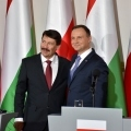 prezydent polski i wegier