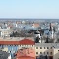 widok miasta z wieży