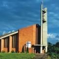 Parafia Nawiedzenia Najświętszej Maryi Panny nowy budynek