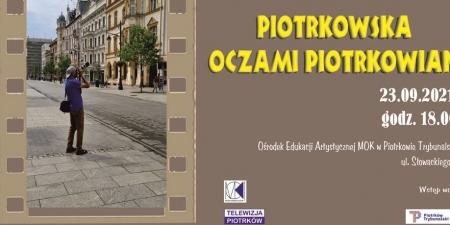 Piotrkowska oczami piotrkowian plakat mini — kopia